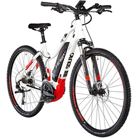HAIBIKE SDURO Cross 6.0 Femme, white/red/anthracite